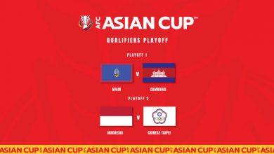صورة غوام تواجه كمبوديا وإندونيسيا تقابل الصين تايبيه في ملحق تصفيات كأس آسيا