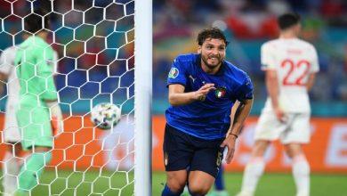 صورة شاهد فيديو اهداف مباراة ايطاليا وسويسرا فى يورو 2020