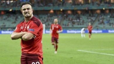صورة أبرز مجريات مباراة سويسرا وتركيا
