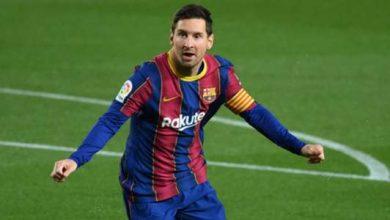 """صورة """"برشلونة مهدد بالحرمان من تسجيل عقد ميسي الجديد"""""""