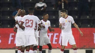 صورة شاهد فيديو اهداف مباراة قطر والهند في تصفيات كأس العالم 2022 «فوز سهل للعنابي»