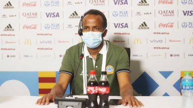 صورة سعيد عبدي : فخور بما قدمه اللاعبون رغم الخسارة أمام عمان