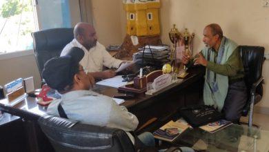 صورة مسجدي يلتقي رئيس إتحاد الشطرنج ويؤكد مساندة ودعم المكتب لجهود الإتحاد لنشر وتطوير اللعبة