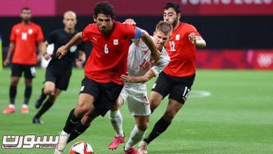 صورة بمشاركة حجازي..مصر تسقط إسبانيا في فخ التعادل
