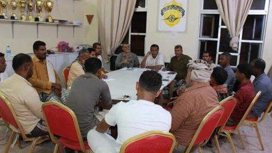 صورة إقرار تشكيل لجنة تحضيرية لتسيير عمل مجلس الفرق بنادي أهلي الغيل