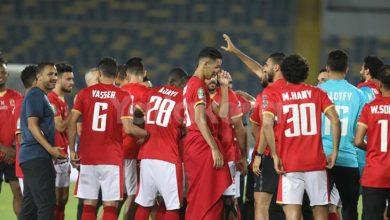 صورة راحة 3 أيام للاعبي الأهلي عقب الفوز أمام أسوان