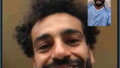 صورة محمد صلاح يدعم صالح جمعة بعد خضوعه لعملية في وتر أكيليس