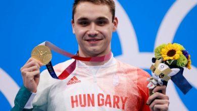 صورة اولمبياد طوكيو – سباحة: المجري ميلاك يحقق رقما قياسيا ويحصد الميدالية الذهبية