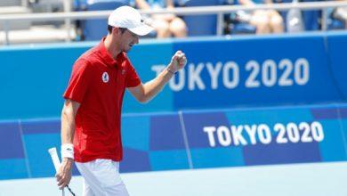 صورة أولمبياد طوكيو – كرة مضرب: ميدفيديف إلى ربع النهائي بتخطيه  فونيني