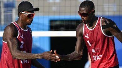 صورة قطر تفوز على سويسرا في الكرة الطائرة الشاطئية