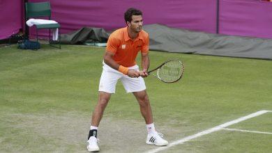 صورة استبعاد لاعب التنس الهولندي روجر من أولمبياد طوكيو