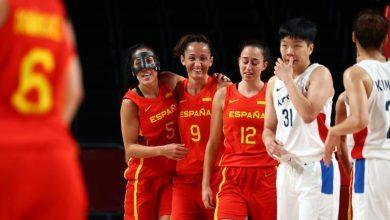 صورة إسبانيا تفوز على كوريا الجنوبية في منافسات كرة السلة للسيدات