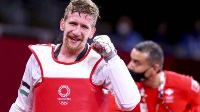 صورة الأردني الشرباتي يحصد فضية في التايكوندو بالأولمبياد