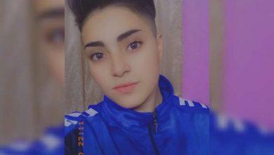 صورة لاعبة فريق جرمانا السوري بكرة القدم ميراي العقباني