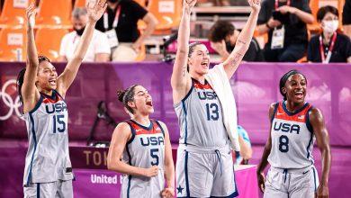 صورة أولمبياد طوكيو: أمريكا تحصد ذهبية كرة السلة 3×3 للسيدات