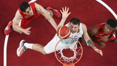 صورة سلوفينيا تحقق فوزها الثاني في كرة السلة للرجال بأولمبياد طوكيو