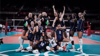 صورة أولمبياد طوكيو: إيطاليا تواصل انتصاراتها في كرة الطائرة للسيدات