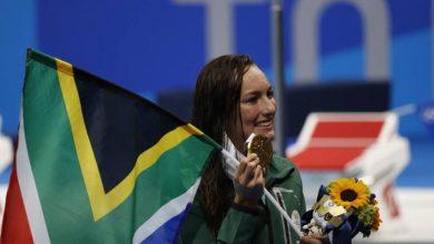 صورة الجنوب أفريقية شونميكر تتوج بذهبية 200 م