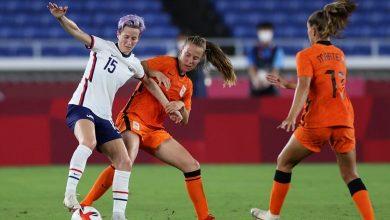 صورة أولمبياد طوكيو: ضربات الترجيح تقود سيدات أمريكا للفوز على هولندا والتأهل
