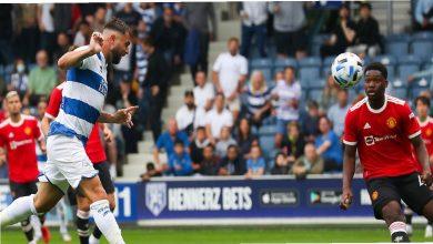 صورة شاهد فيديو اهداف مباراة مانشستر يونايتد وكوينز بارك رينجرز اليوم