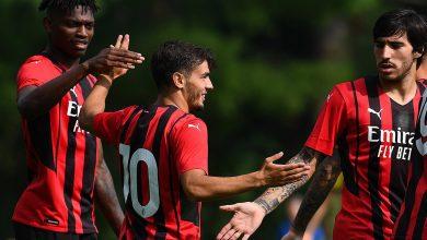 صورة شاهد فيديو اهداف مباراة ميلان ومودينا ضمن استعدادات الموسم الجديد