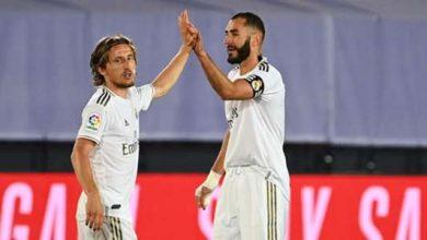 صورة ريال مدريد وكريم بنزيما في الطريق لإعادة خطة مودريتش
