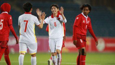 صورة فيتنام تسحق المالديف بـ16 هدف في تصفيات كأس آسيا للسيدات (صور)