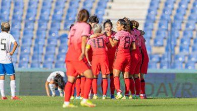صورة منتخب كوريا الجنوبية يكتسح نظيره الأوزبكي في تصفيات آسيا للسيدات