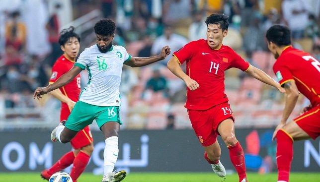 مباشر-مباراة-السعودية-والصين.-شوط-أول-للأخضر-بفضل-ثنائية-النجعي