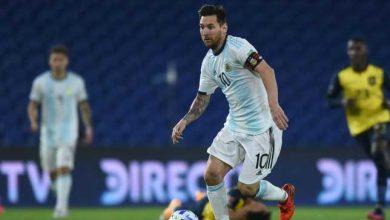 صورة ميسي يهاجم حكم مباراة الأرجنتين وبيرو : إنه يفعل هذا عن قصد!