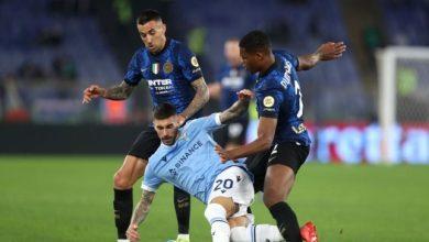 صورة إنتر ميلان يتجرع خسارة مريرة على يد لاتسيو في الدوري الإيطالي