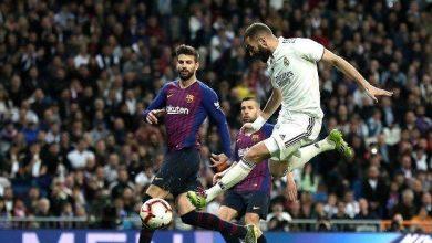 صورة كلاسيكو جواهر ريال مدريد وبرشلونة بلا غالب ولا مغلوب