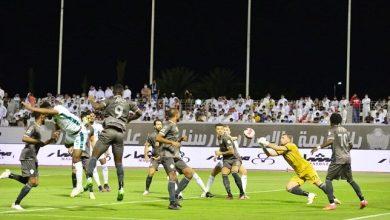 صورة مباشر مباراة الأهلي والطائي.. تعادل مثير بهدف في الشوط الأول