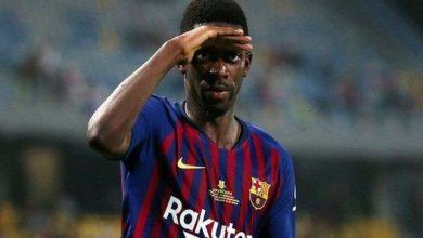 صورة الموعد المتوقع لعودة ديمبلي إلى برشلونة