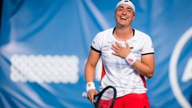 صورة أنس جابر تبدي سعادة هائلة بعد فوزها الأول على سفيتولينا
