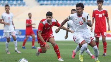 صورة المنتخب الأولمبي يهزم عمان في غرب آسيا