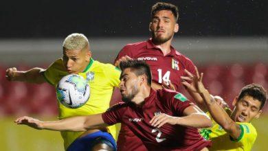 صورة البرازيل تسعى لمواصلة سجلها المثالي أمام فنزويلا بتصفيات المونديال