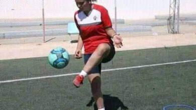 صورة حوار صحفي مع اللاعبة التونسية أسماء العصادي