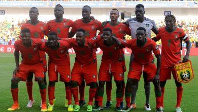 صورة لاعبي غينيا بيساو يتعرضون لتسمم قبل لقاء المغرب